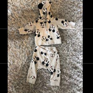 H&M Matching Sets - H&M Disney baby Mickey Mouse sweatsuit
